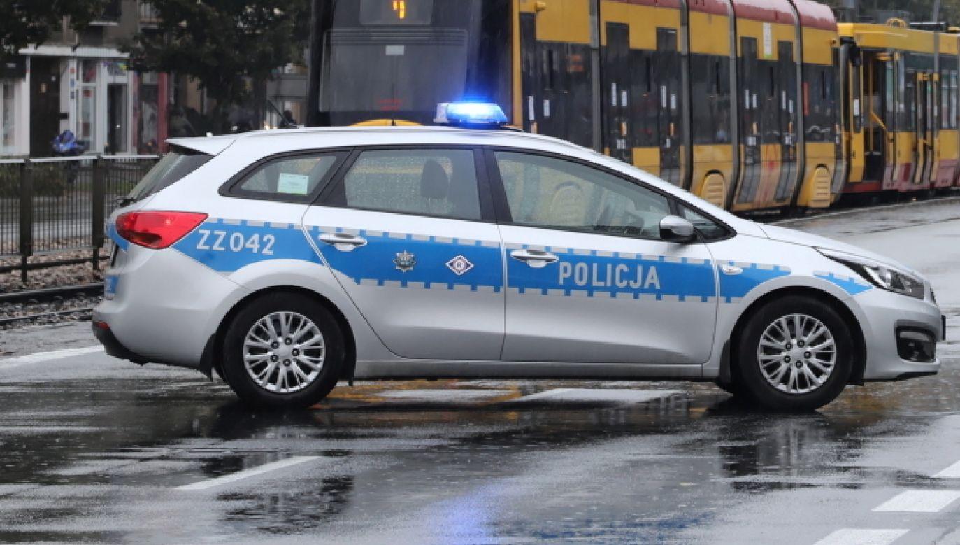 Warszawa. Skandaliczne zdarzenie w centrum miasta (fot. PAP/Wojciech Olkuśnik)