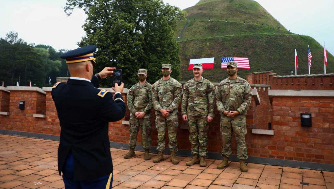 W Polsce ulokowane zostanie wysunięte dowództwo V Korpusu Wojsk Lądowych USA (fot. Beata Zawrzel/NurPhoto via Getty Images)