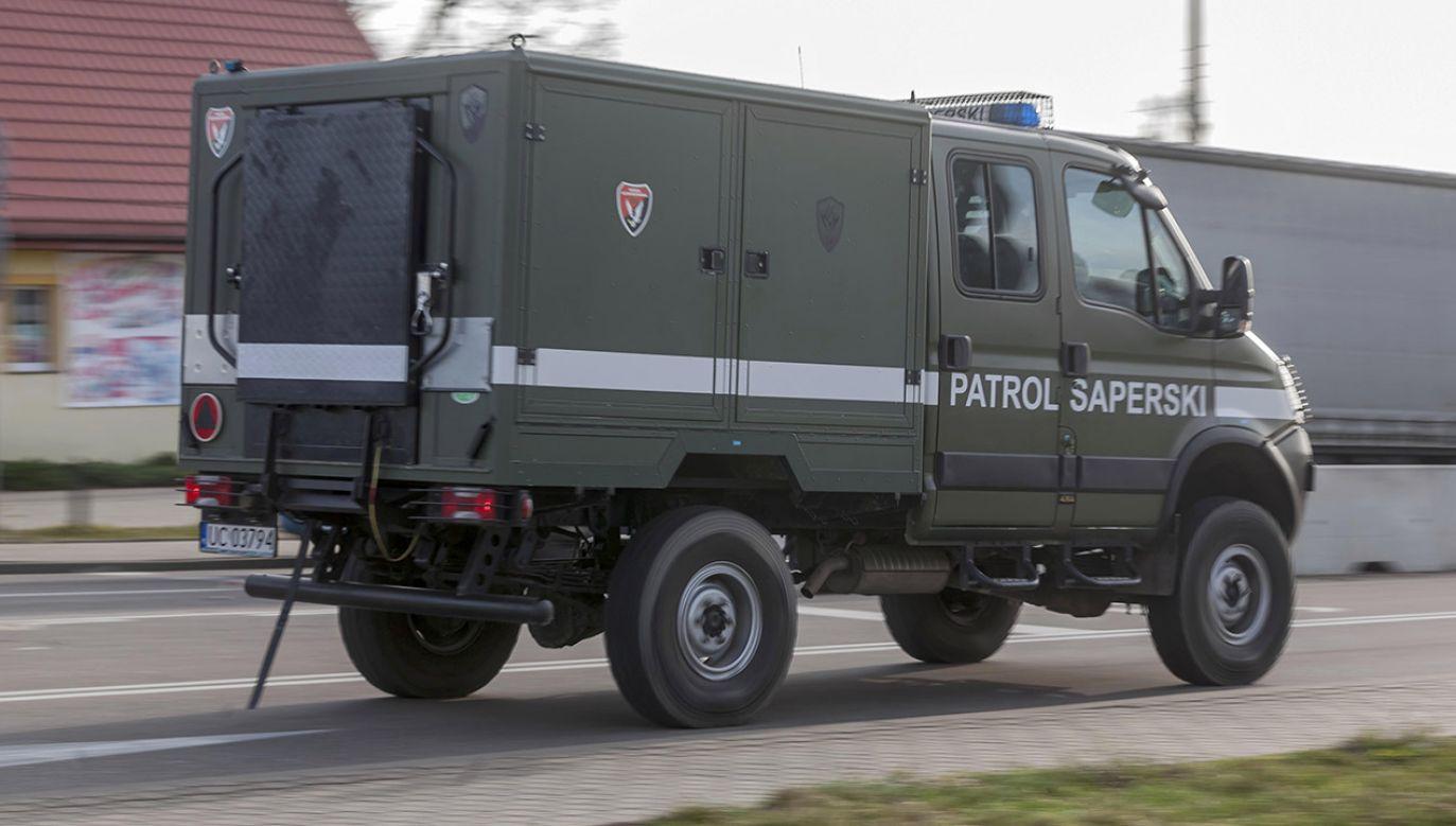Teren został zabezpieczony (fot. arch.PAP/Marcin Onufryjuk)