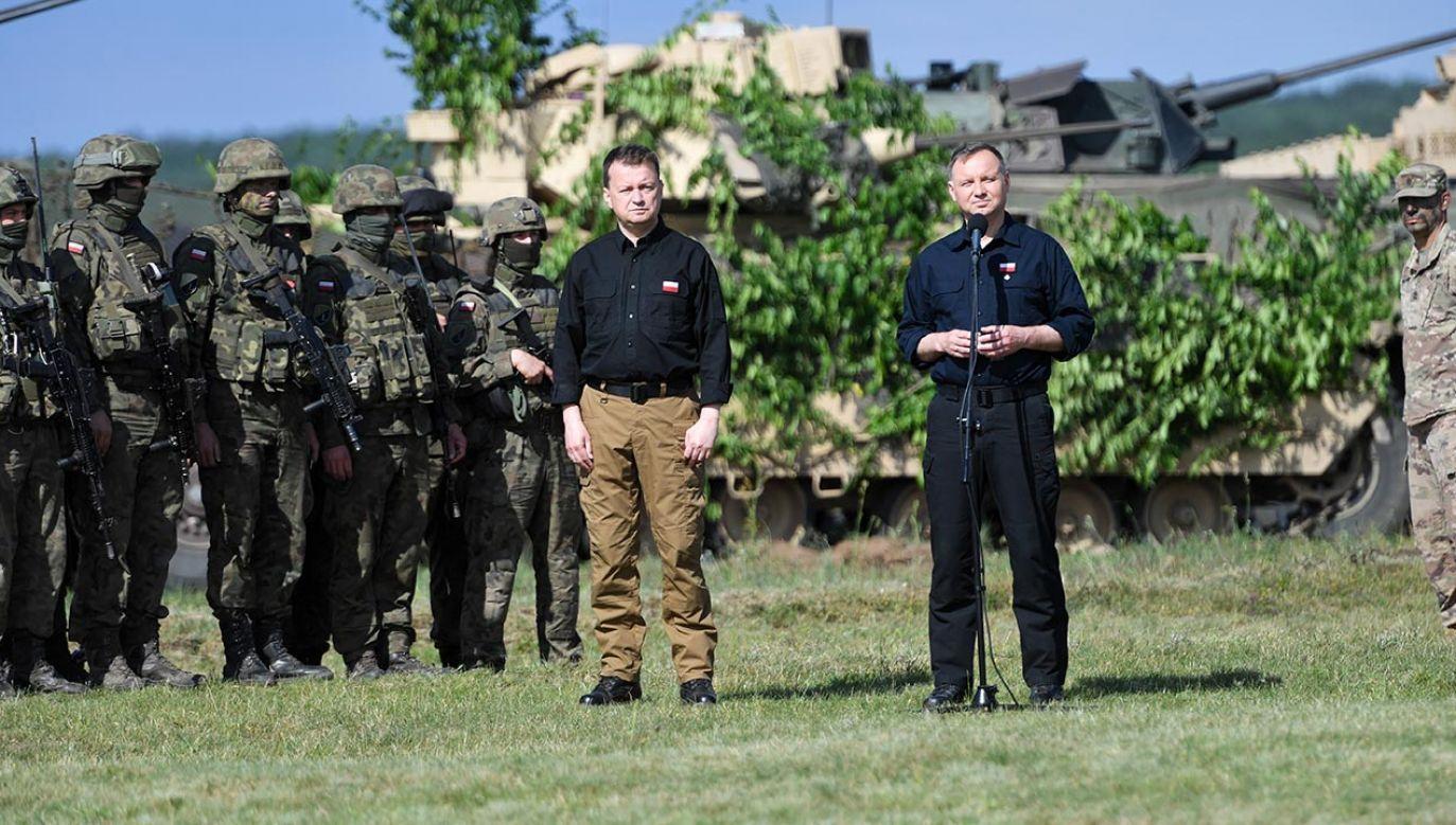 Ćwiczenie Defender-Europe 20 Plus, które trwało do 19 czerwca (fot. PAP/Marcin Bielecki)