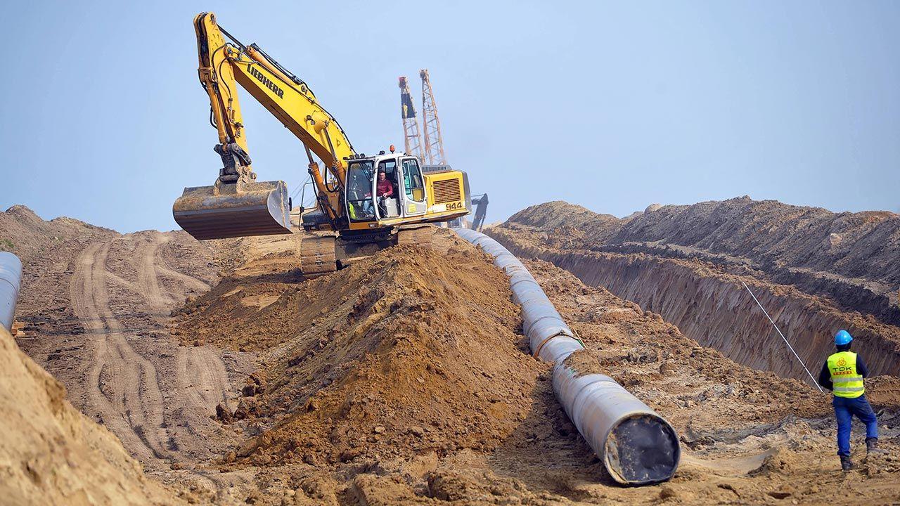 Baltic Pipe otrzymało dotację w wysokości 215 mln euro z instrumentu »Łącząc Europę«(fot. PAP/Marcin Bielecki)