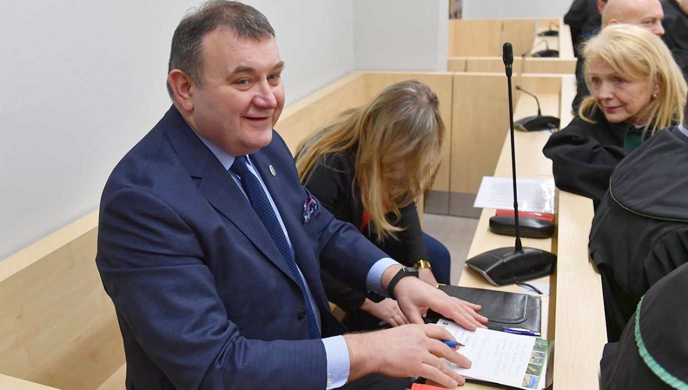 Mieczysław O. złożył też wniosek o dobrowolne poddanie się karze (fot. PAP/Marcin Bielecki)
