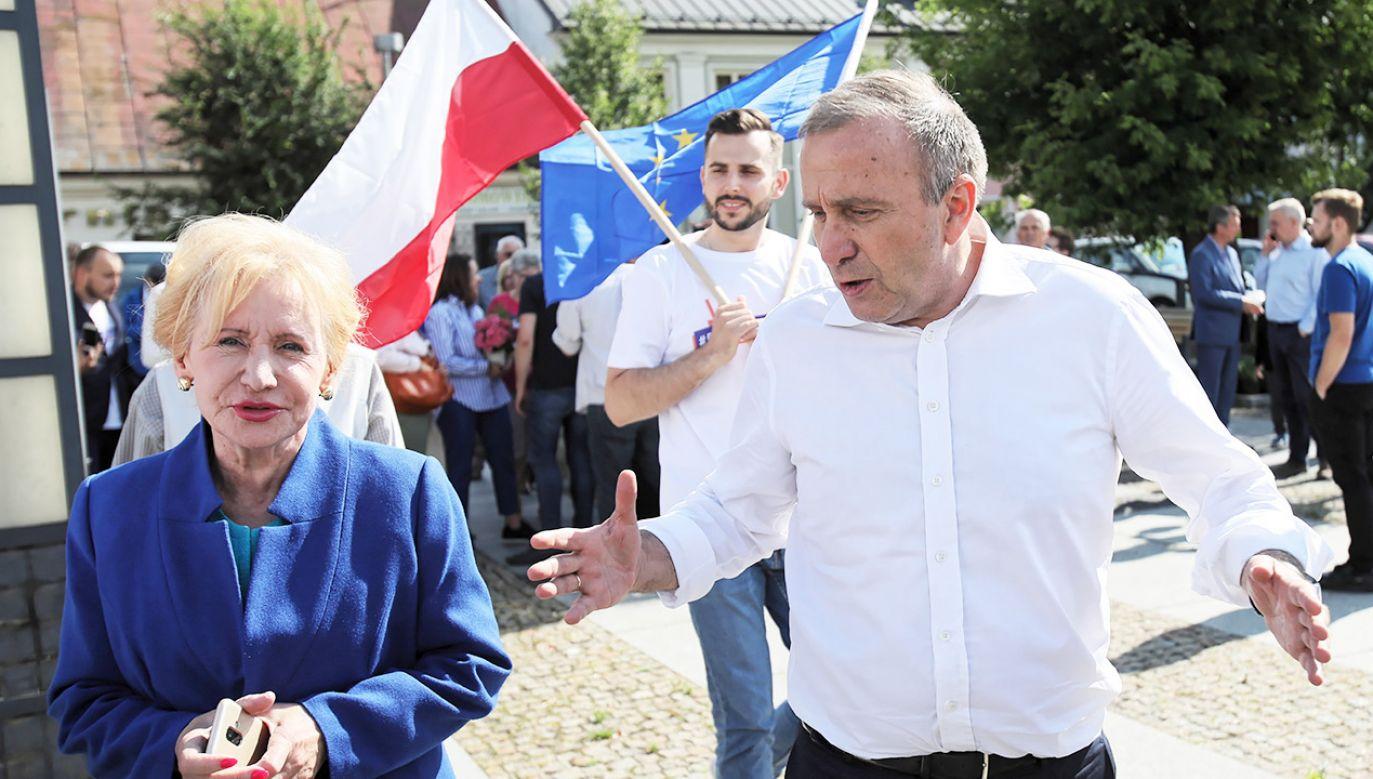 Przewodniczący PO Grzegorz Schetyna  (fot. PAP/Leszek Szymański)