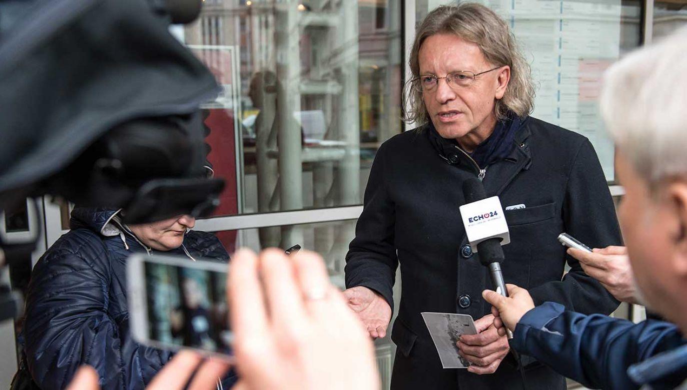 Krzysztof Mieszkowski (fot. arch. PAP/Maciej Kulczyński)