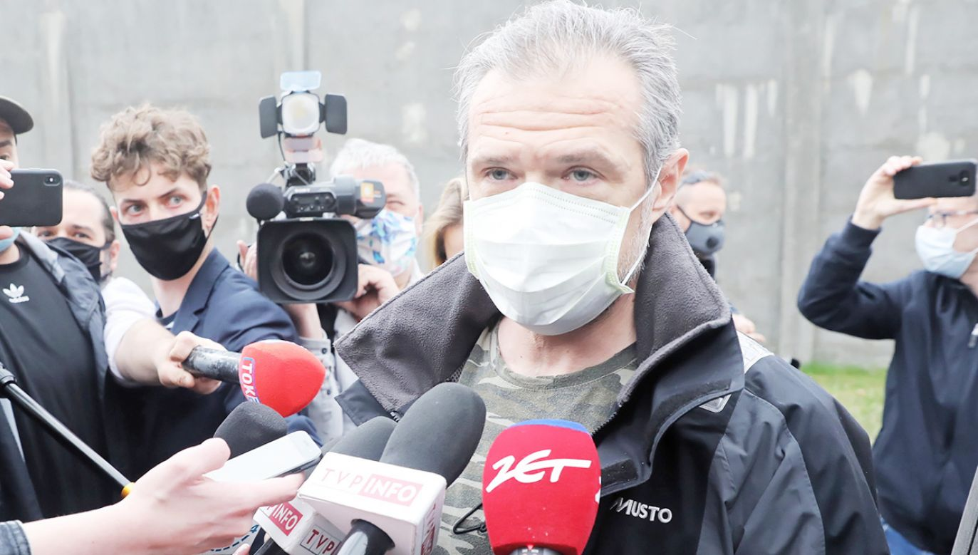 Sławomir Nowak powinien wrócić do aresztu śledczego, jeżeli nie wpłaci 1 mln zł kaucji (fot. PAP/Tomasz Gzell)