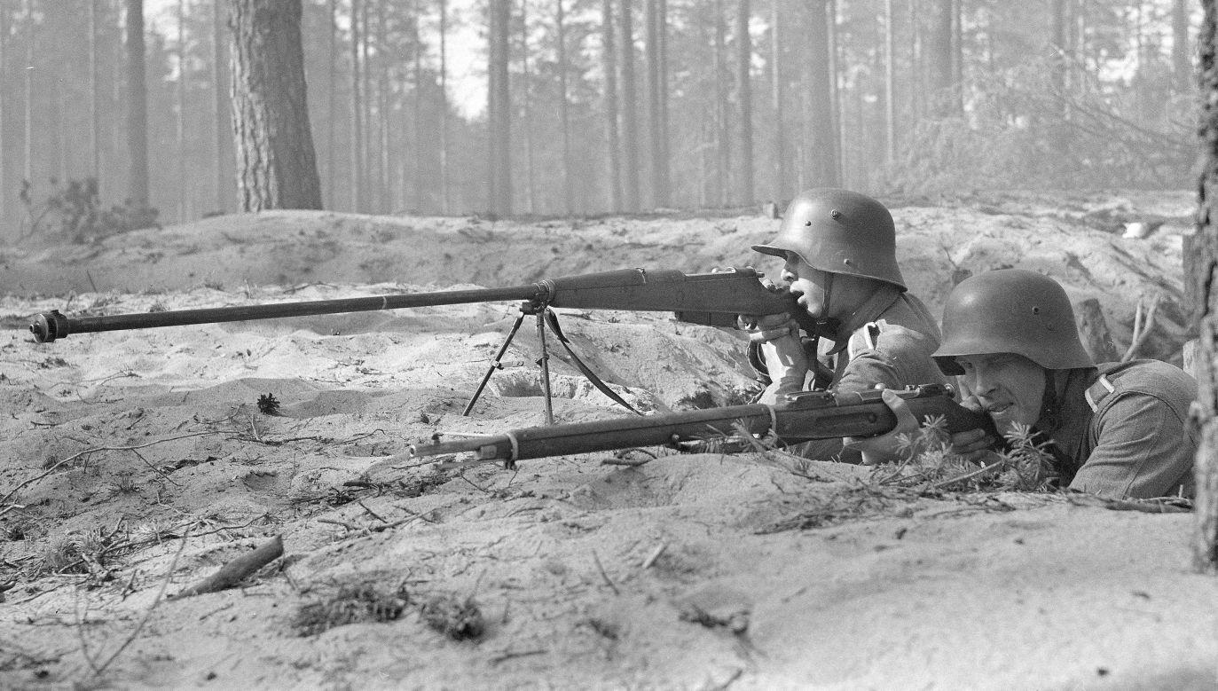 Z polskich karabinów przeciwpancernych wz.35 korzystali także Finowie walczący z Sowietami (fot. Wikipedia/SA-kuva)