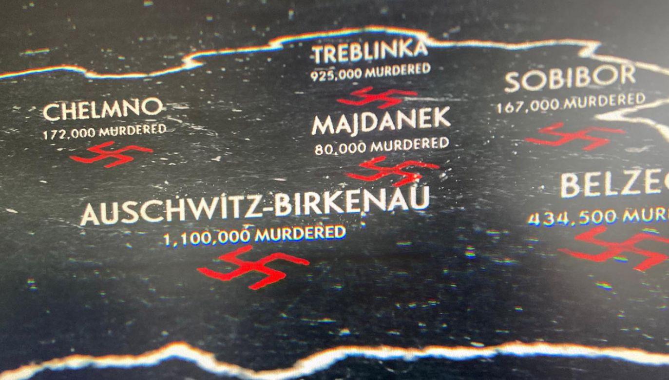 """Screen z filmu """"Księgowy z Auschwitz"""" (fot. Netflix tv screen)"""