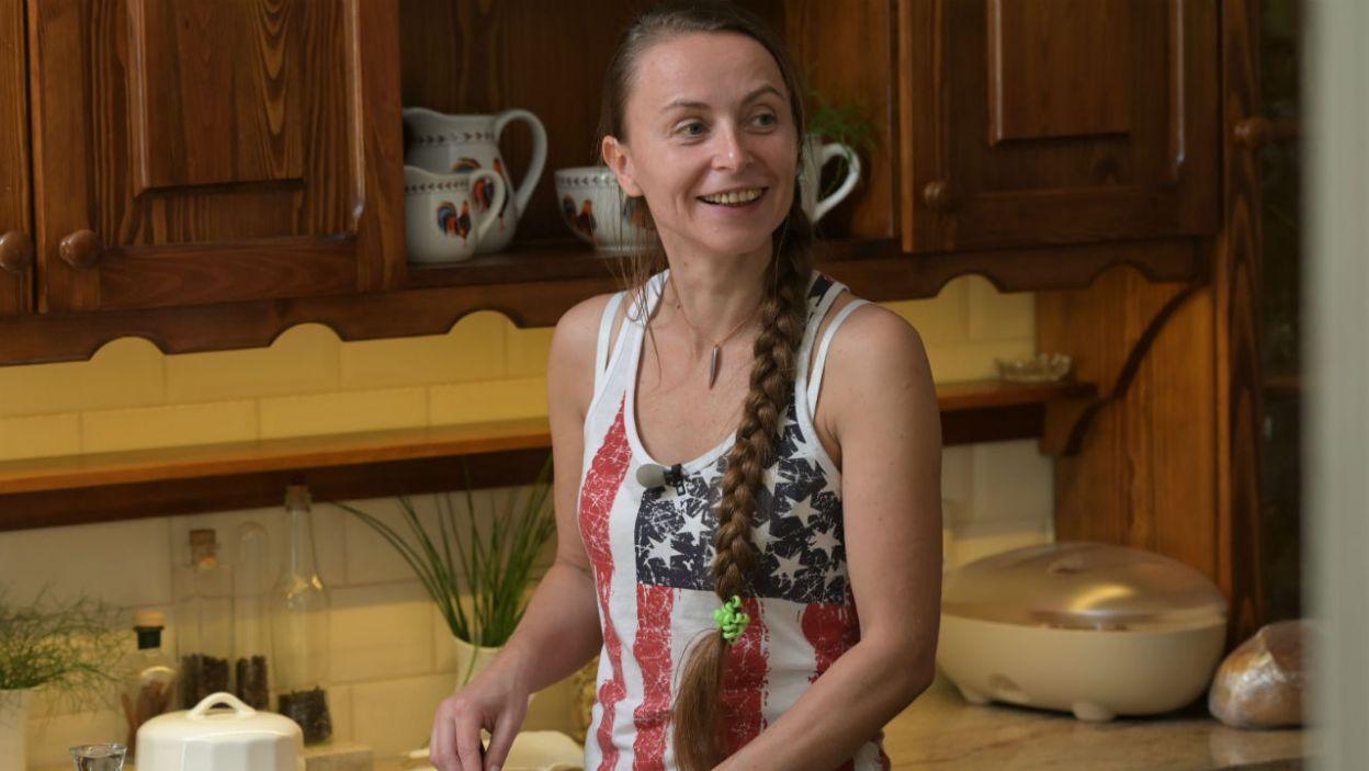 – Nowoczesna pani domu – tak Ewa określiła zaangażowanie swoje i Anny (fot. P. Matey/TVP)