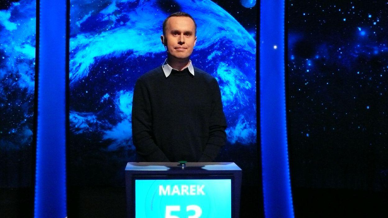 Pan Marek Biegun zwyciężył 1 odcinek 117 edycji