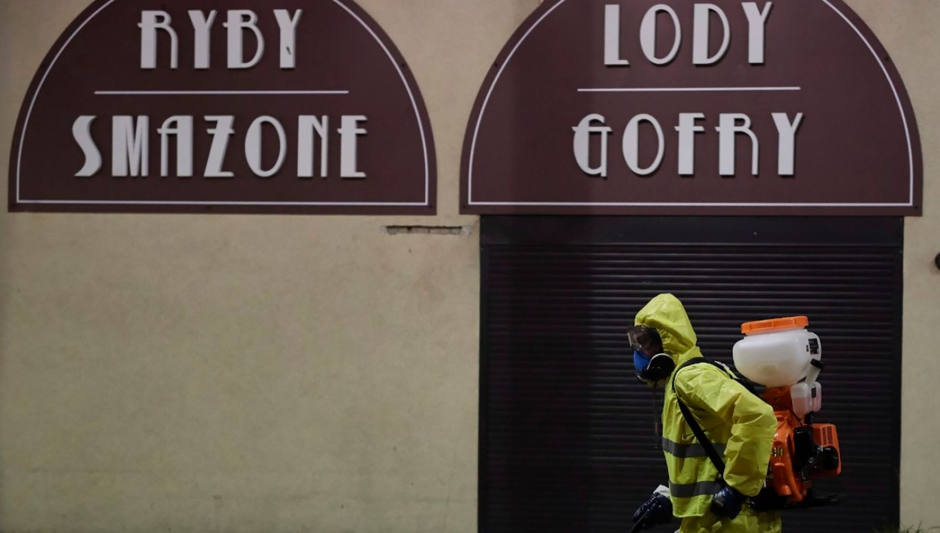 Epidemia w Polsce (fot.PAP/Adam Warżawa)
