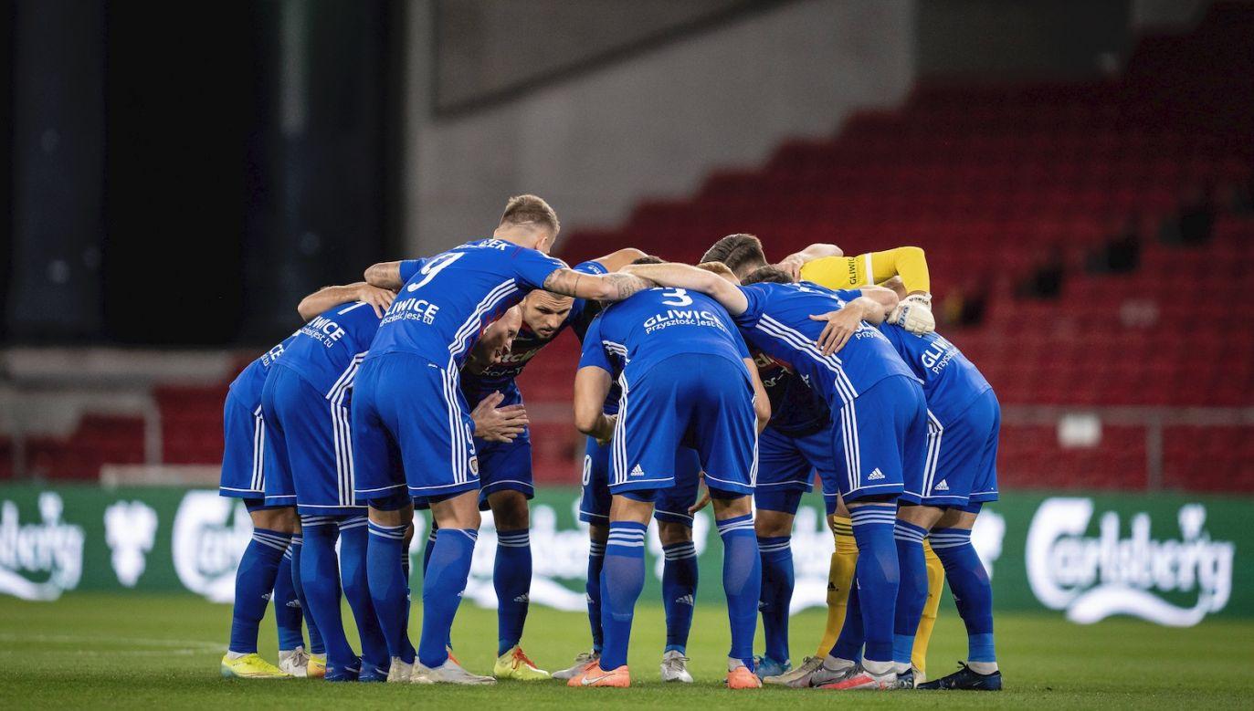 W czwartek Piast Gliwice pożegnał się z Ligą Europy (fot. PAP)