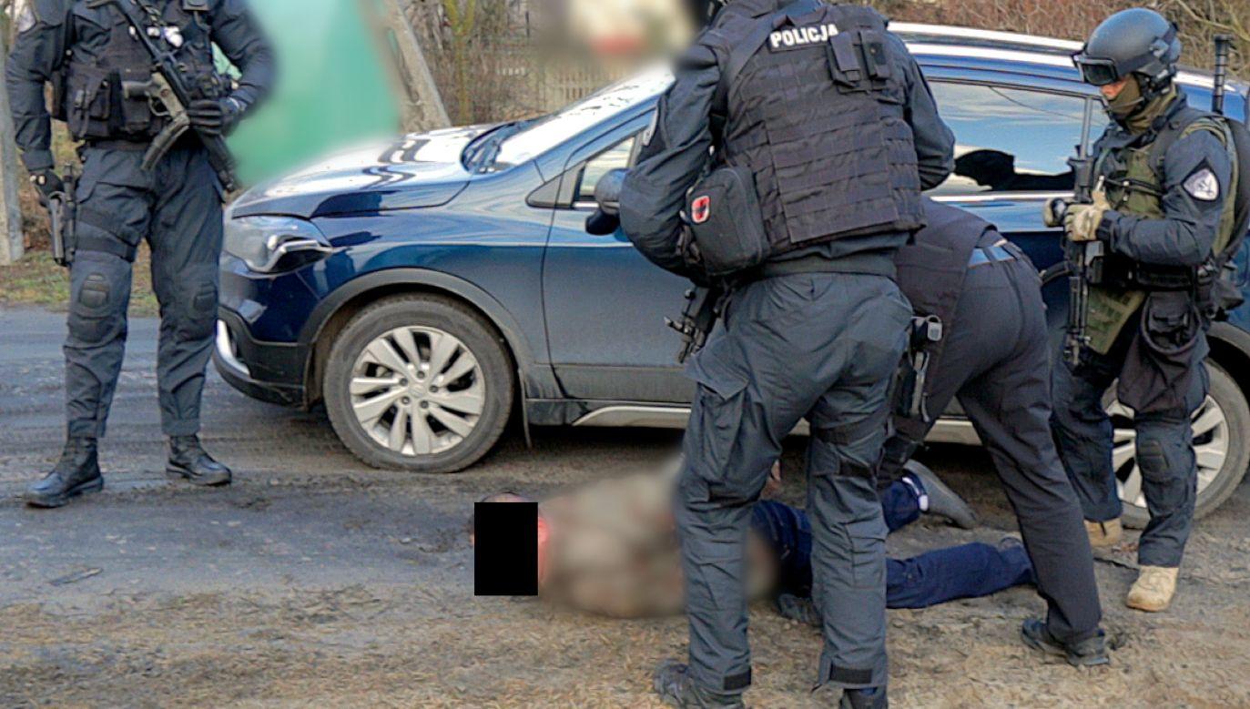Większość zatrzymanych nie miała do tej pory nic wspólnego z półświatkiem (fot. policja.gov.pl)