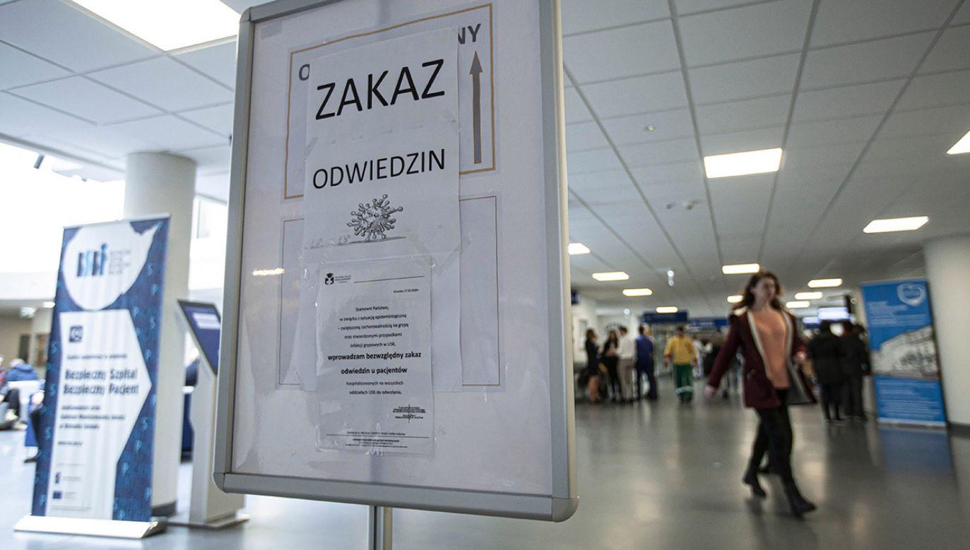Premier wyasygnował dla szpitali 100 mln dodatkowych funduszy (fot. PAP/Aleksander Koźmiński)