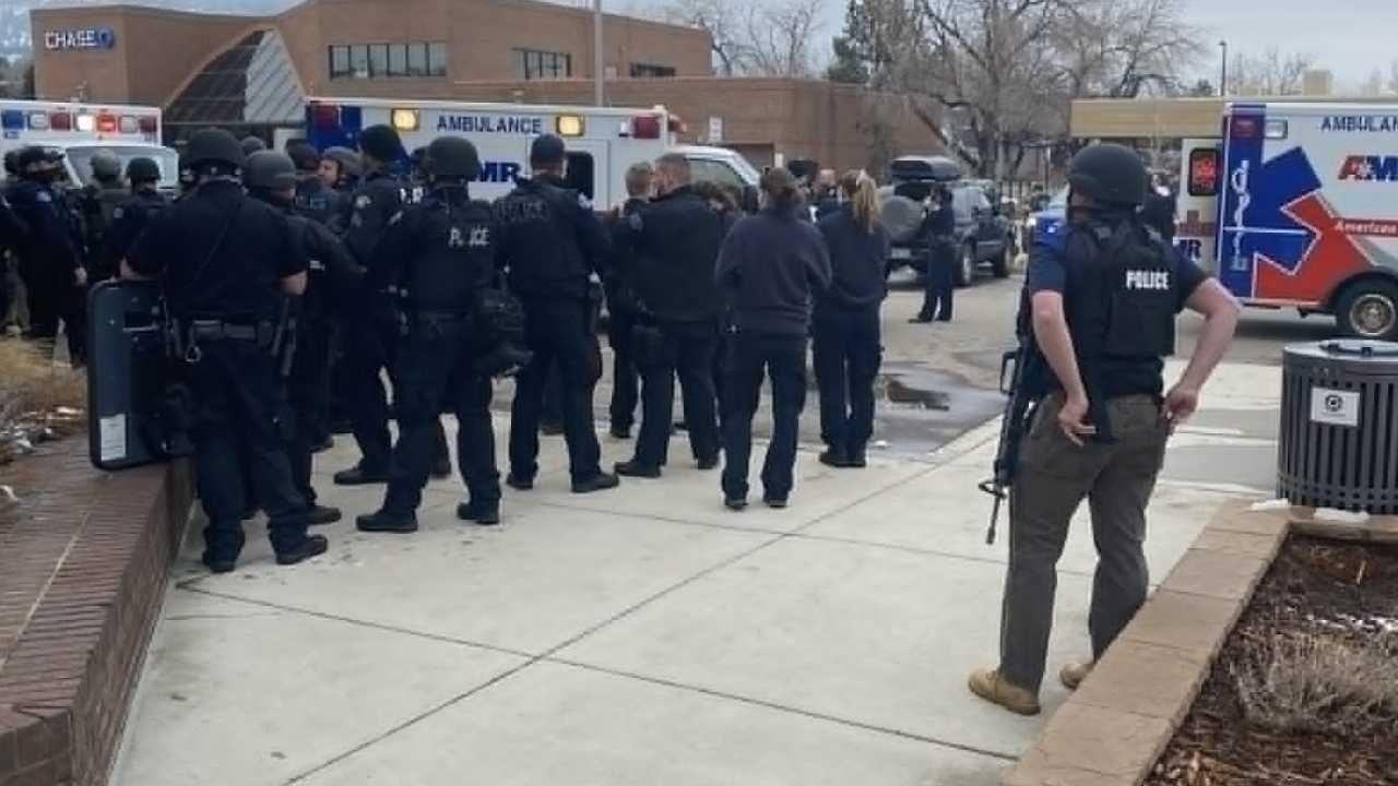 Wśród ofiar jest funkcjonariusz (fot. TT/Boulder Police Dept.)