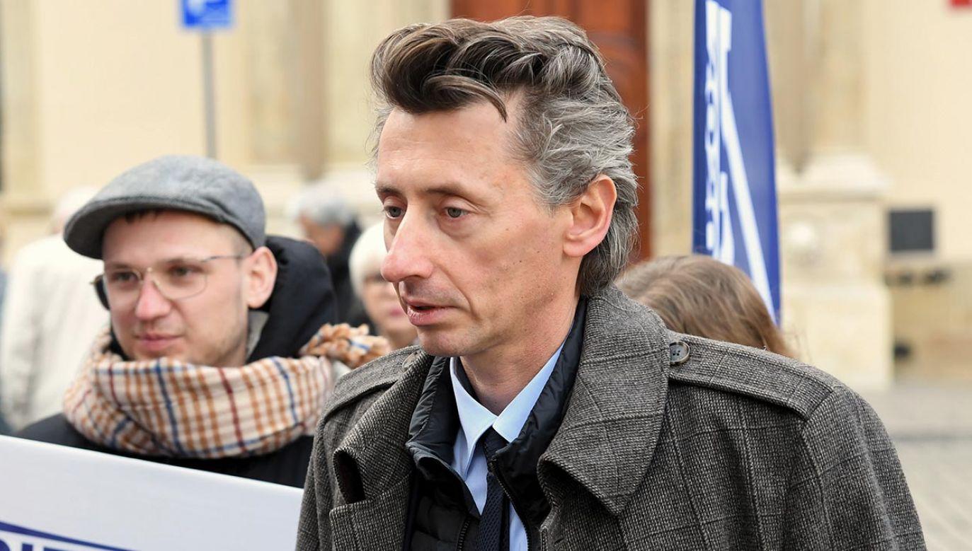 Maciej Gdula chce zmian ws. lektury szkolnej Henryka Sienkiewicza (fot.  PAP/Jacek Bednarczyk)