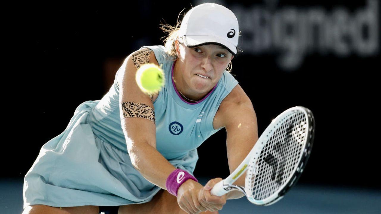 Czy Iga Świątek zagra w turnieju WTA w Gdyni? (fot. P.Mundy/Speed Media/Icon Sportswire/Getty Images)