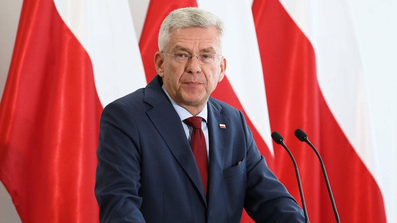 Rezygnacja Stanisława Karczewskiego (fot. PAP/Tomasz Gzell)