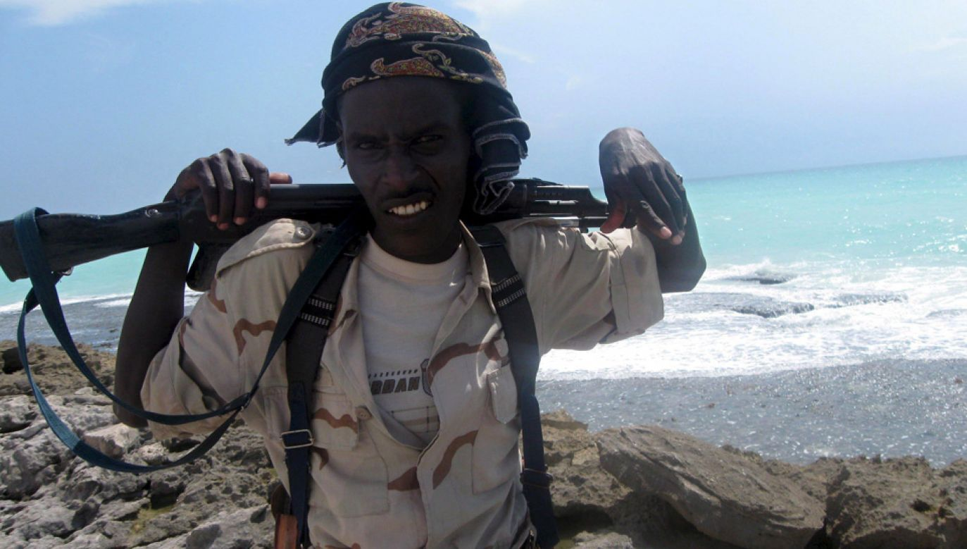 Piraci grasują głównie u wybrzeży Somalii (fot. arch.PAP/EPA/BADRI MEDIA)