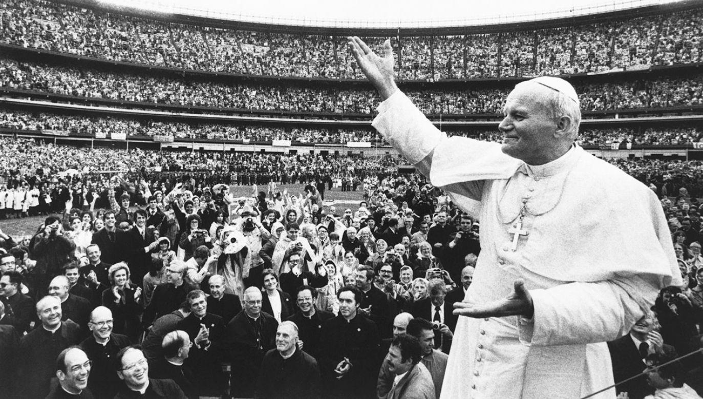 Jan Paweł II (fot.  Bettmann/Getty)