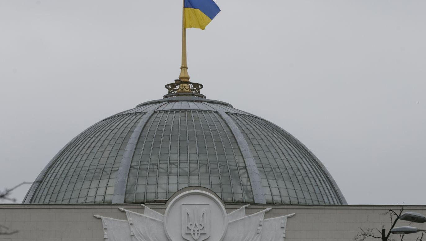 Rada Najwyższa Ukrainy (fot. REUTERS/Valentyn Ogirenko, zdjęcie ilustracyjne)