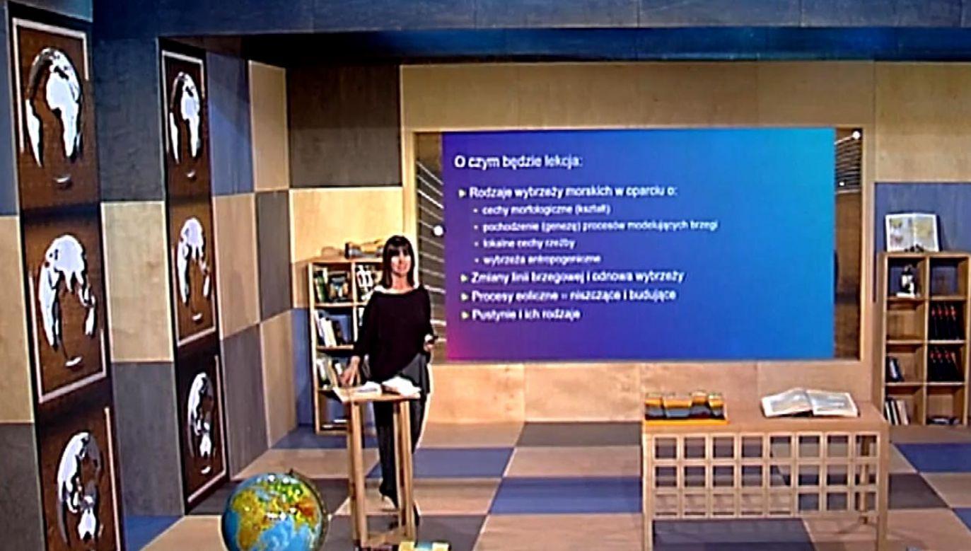 W ramach projektu wyemitowano 1,6 tys. lekcji (fot. TVP Info)