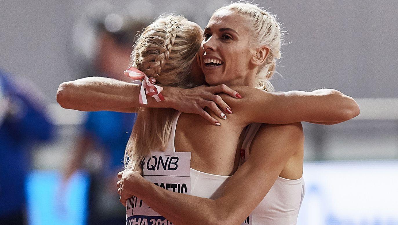 Iga Baumgart-Witan i Justyna Święty-Ersetic to pierwsze Polki, które awansowały do finału mistrzostw świata w biegu na 400 m (fot. PAP/Adem Warżawa)