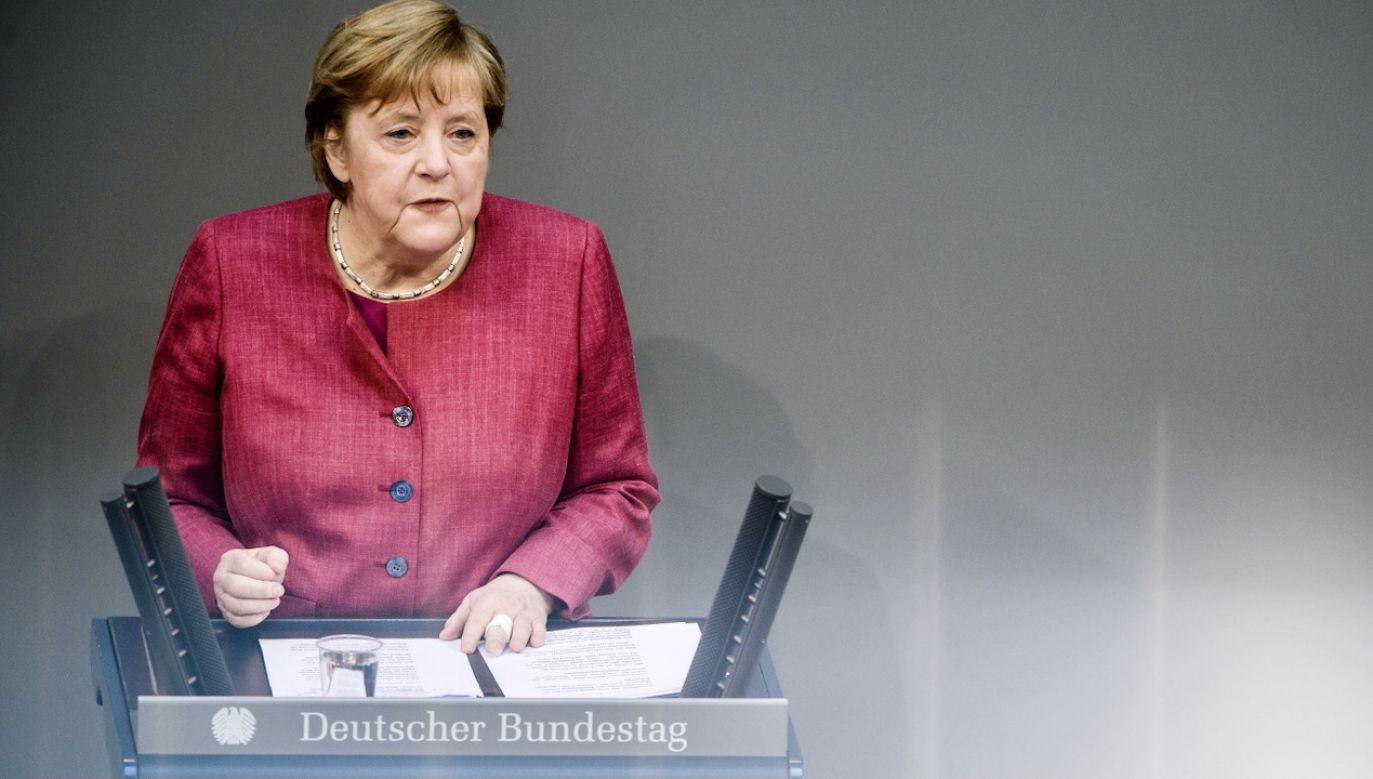 Kanclerz Niemiec Angela Merkel (fot. PAP/EPA/C.BILAN)