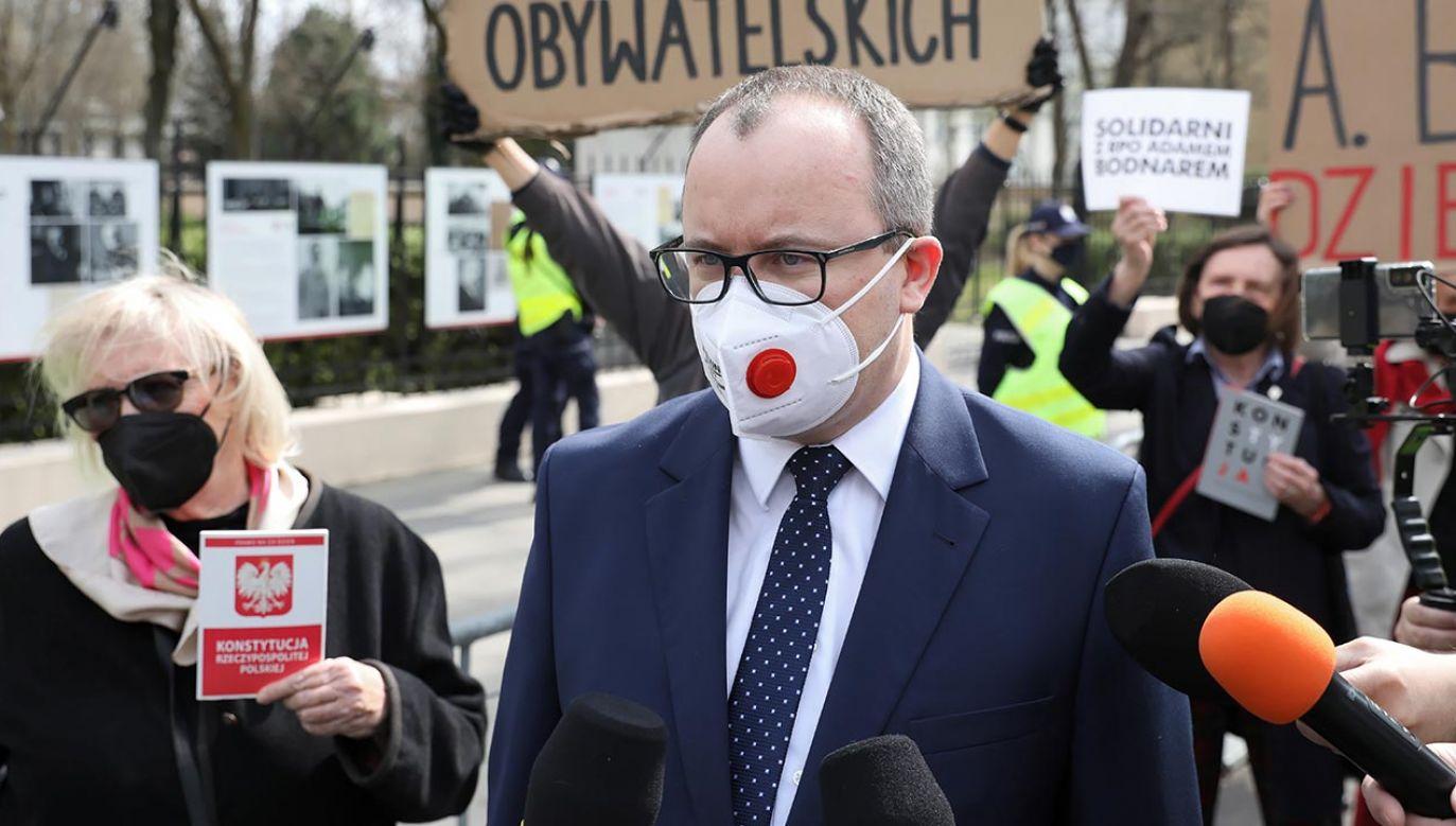 Bodnar wciąż RPO (fot.  PAP/Leszek Szymański)