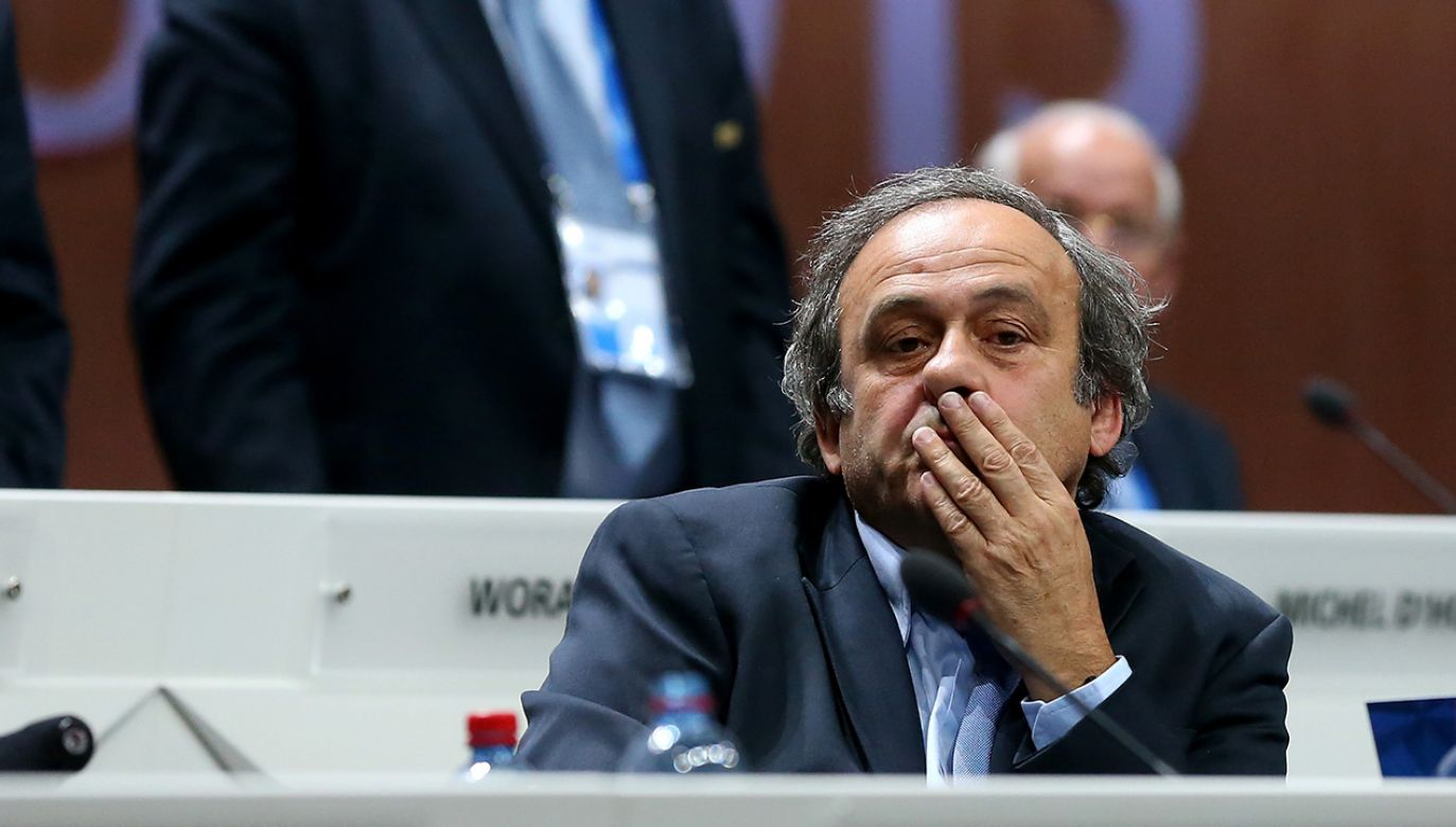 Michel Platini (fot. Alexander Hassenstein - FIFA/FIFA via Getty Images)