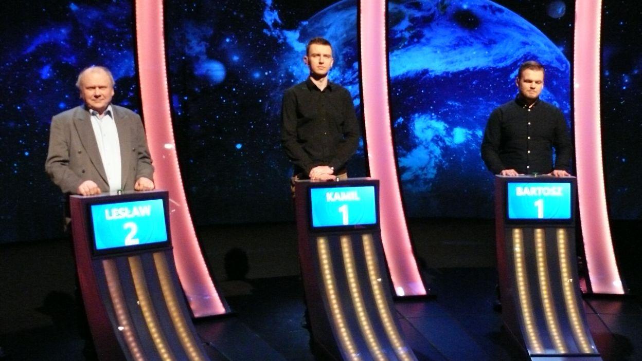 Finaliści 1 odcinka 113 edycji za chwilę stoczą pojedynek na wiedzę