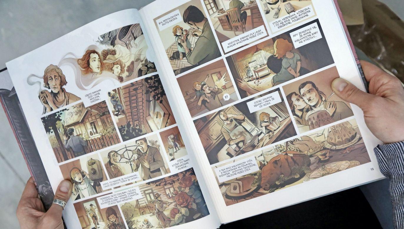Komiks został napisany na podstawie wspomnień Sybiraczki  Danuty Pietrzak (fot. PAP/Artur Reszko)