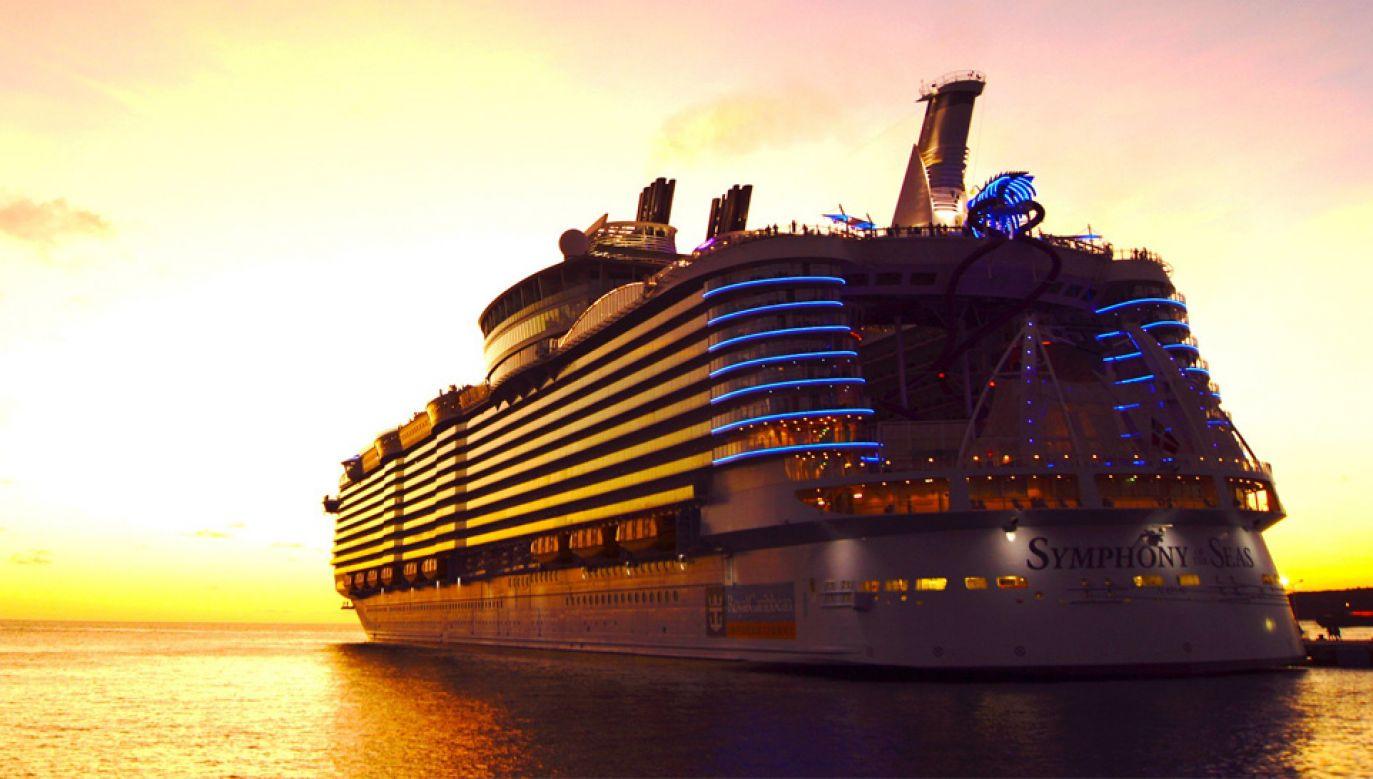 Ponad 360-metrowy Symphony of the Seas to największy statek wycieczkowy na świecie (fot. mat.pras.)