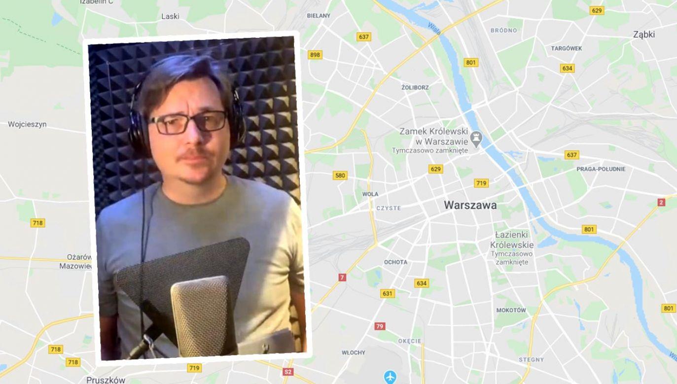 Jarosław Juszkiewicz pożegnał się z kierowcami (fot. Google Maps; YouTube/Jarosław Juszkiewicz)
