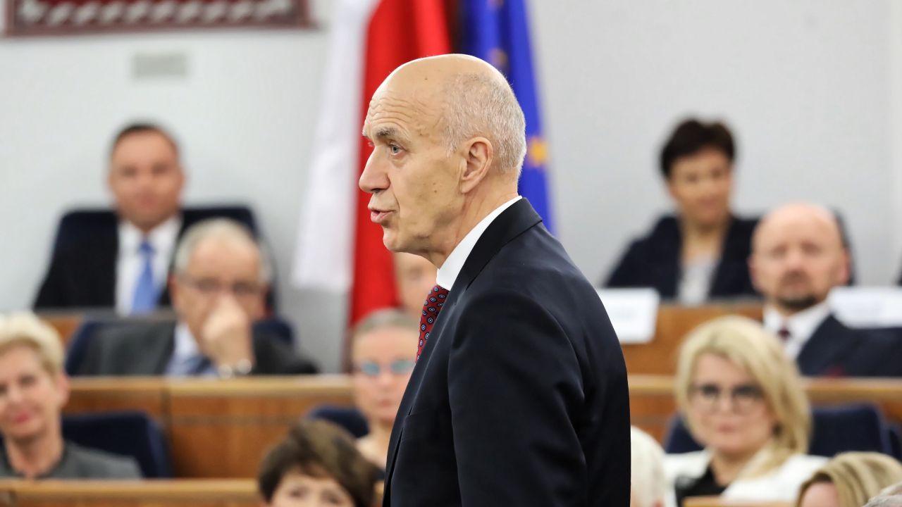 Senator PO-KO Antoni Mężydło (fot. PAP/Tomasz Gzell)