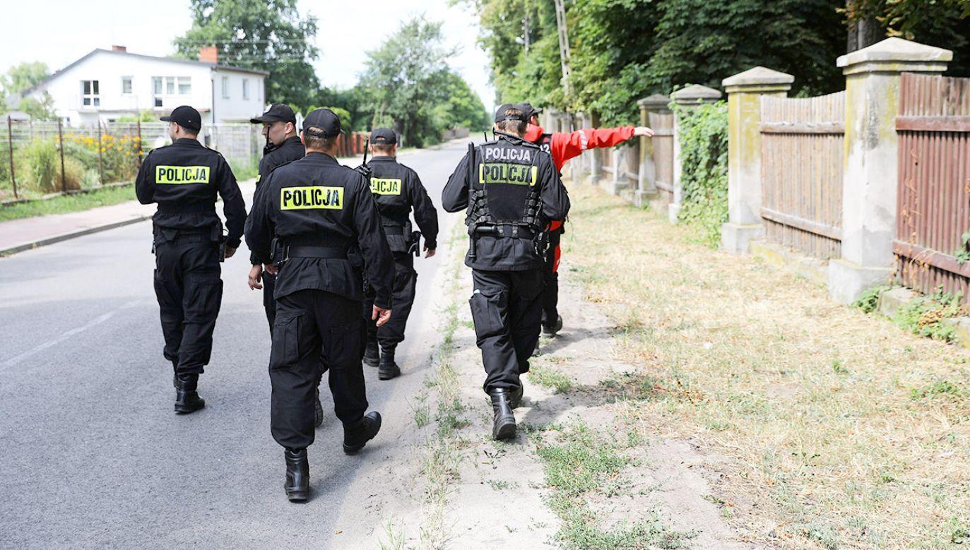 Kolejna doba od zaginięcia 5-letniego Dawida (fot. PAP/Radek Pietruszka)