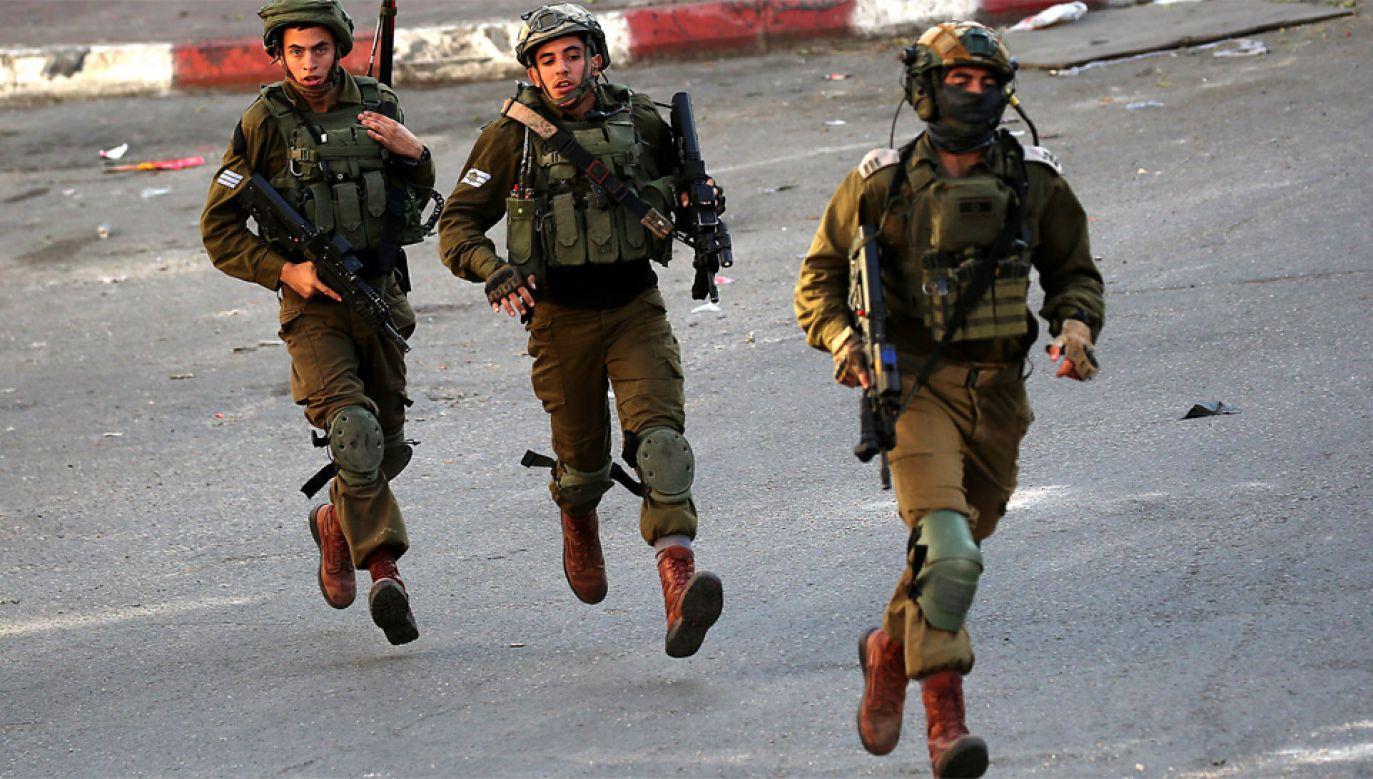 Siły zbrojne Izraela od lat borykają się ze spadkiem liczby poborowych (fot. ABED AL HASHLAMOUN)