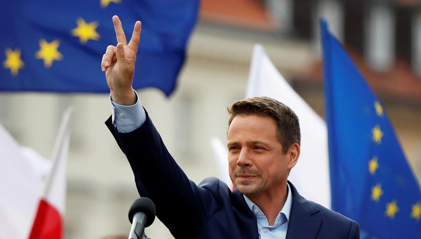 Prezydent Warszawy Rafał Trzaskowski (fot. REUTERS/Kacper Pempel)