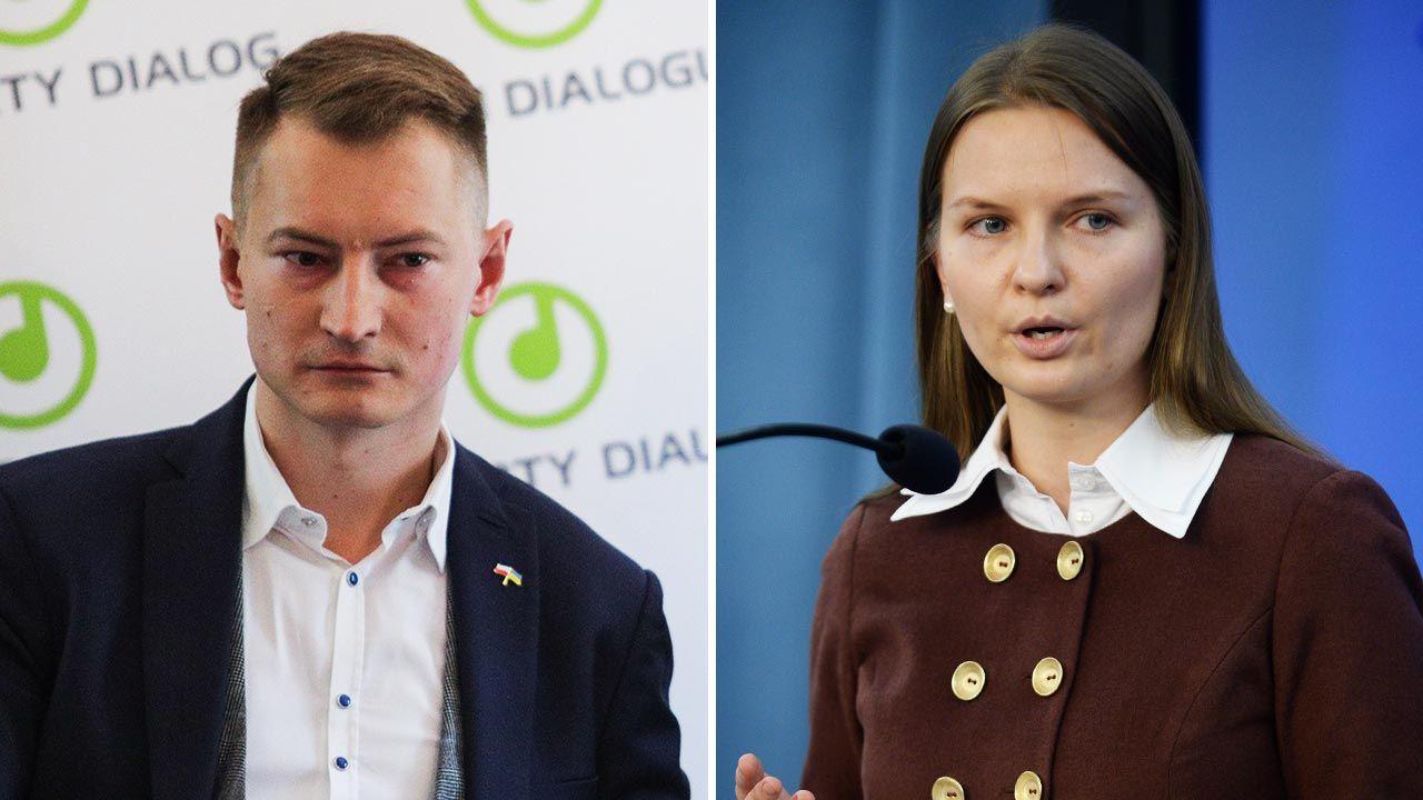 Bartosz Kramek i Ludmiła Kozłowska (fot. Forum/Andrzej Hulimka;  PAP/Bartłomiej Zborowski)