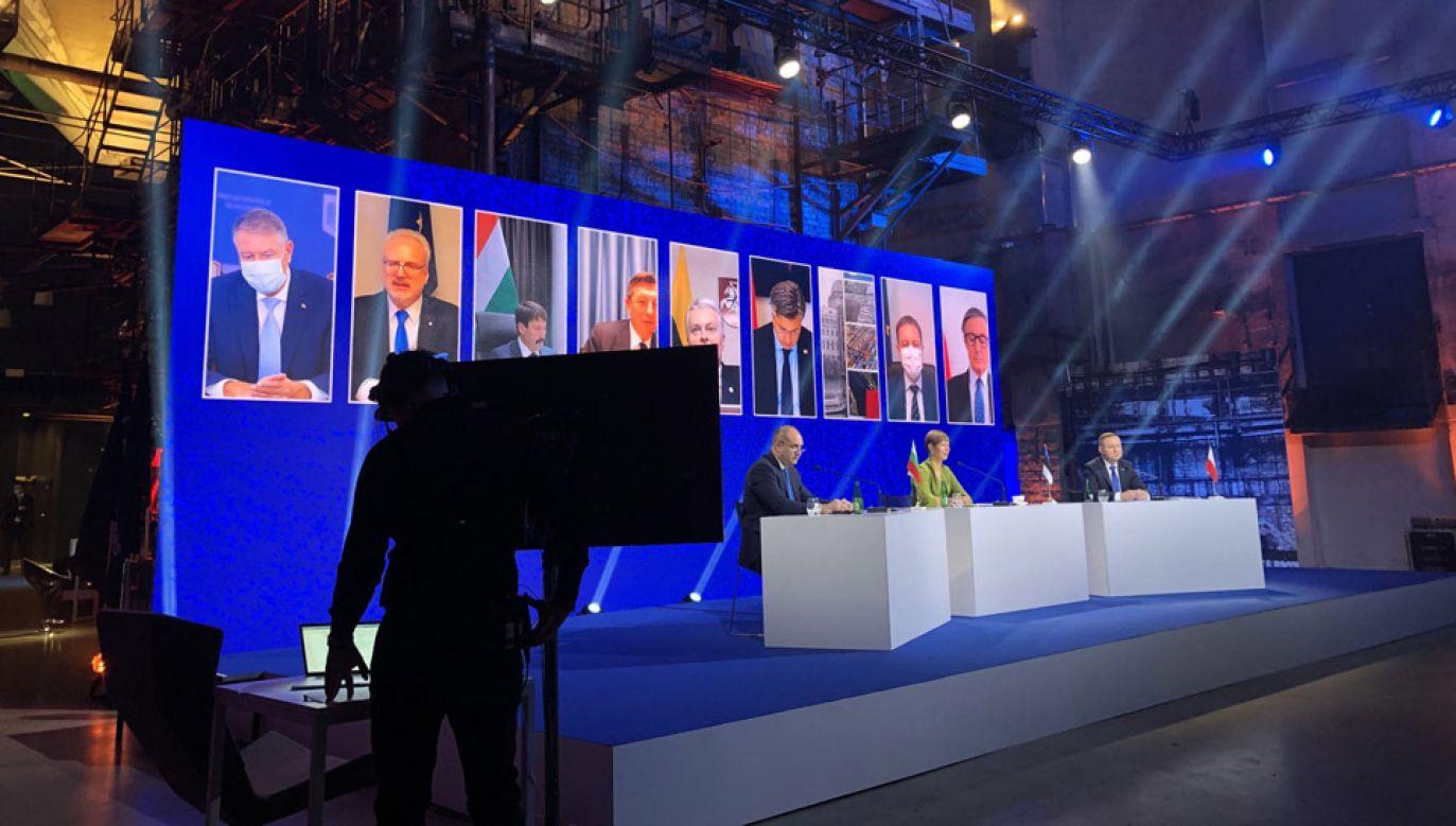 Szczyt Trójmorza odbywa się w Tallinie (fot. Twitter/@KSzczerski)