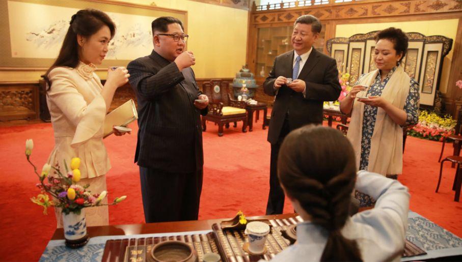 Ri wzbudziła ogromne zainteresowanie podczas wizyty w Pekinie (fot. PAP/EPA/KCNA
