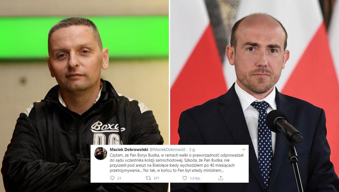 Kibic Legii był przetrzymywany w areszcie (fot. PAP/Bartłomiej Zborowski, Radek Pietruszka)