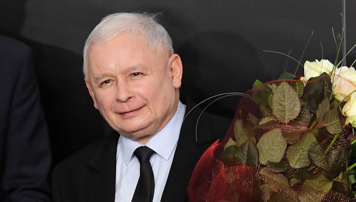 Prezez PiS Jarosław Kaczyński (fot. PAP/Radek Pietruszka)