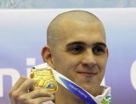 Węgier Laszlo Cseh wygrał finałowy wyścigu na 400 m stylem zmiennym (fot. PAP)
