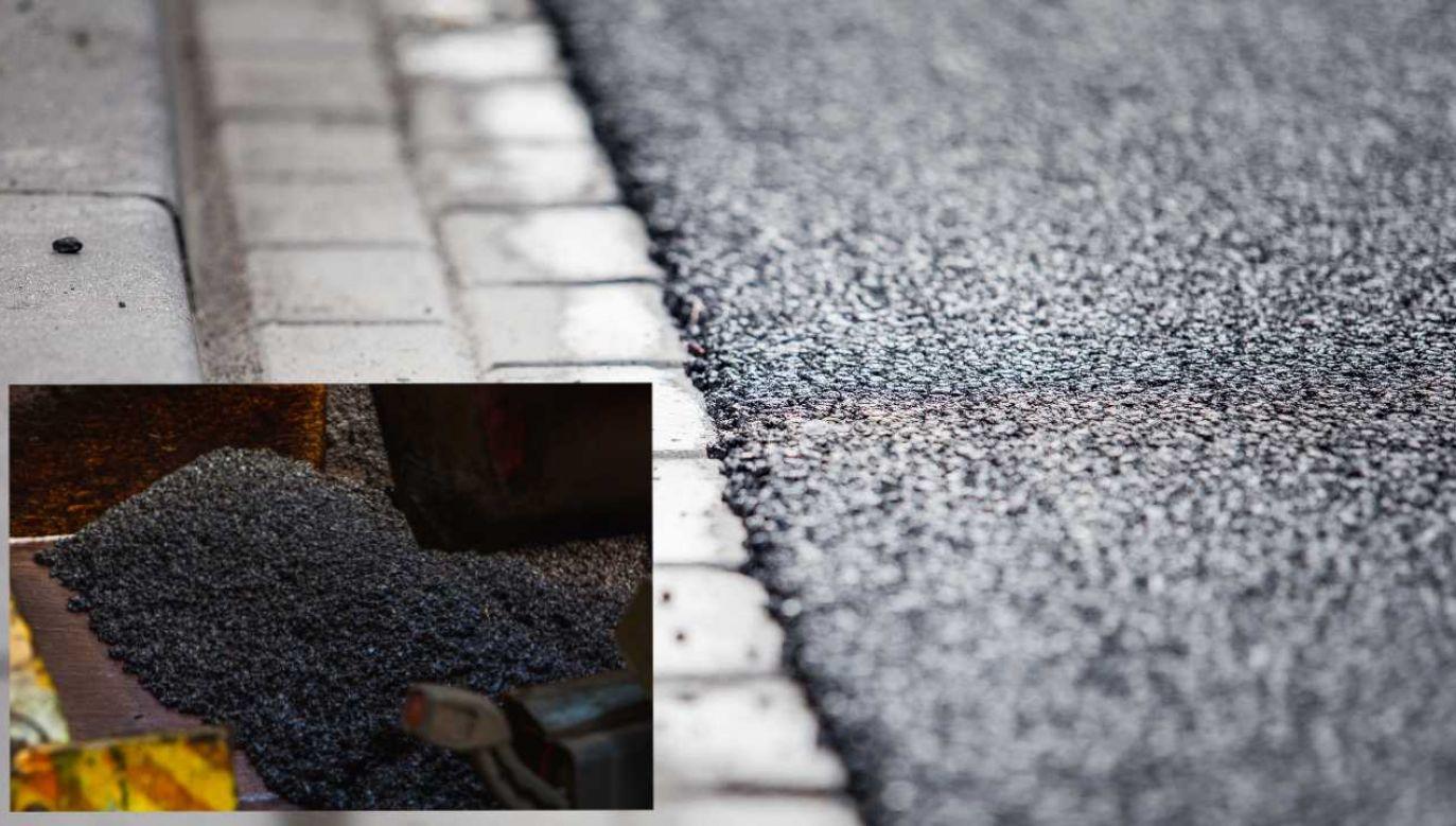 Nawierzchnia ma przyczynić się do redukcji zanieczyszczeń powietrza w rejonie pasa drogowego (fot. mat,pras.)