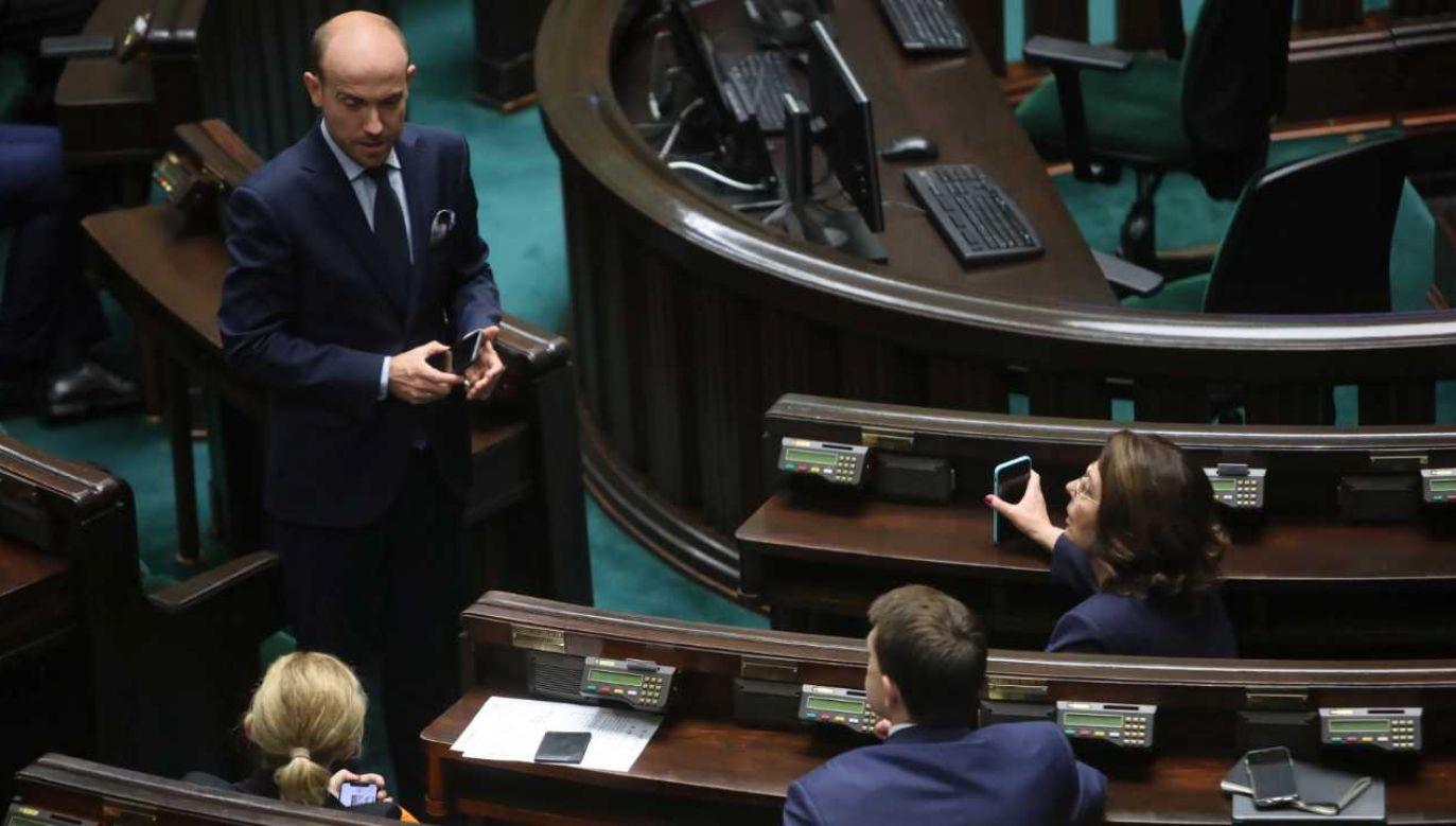 Borys Budka odciął się od działań Małgorzaty Kidawy-Błońskiej (fot. PAP/Wojciech Olkuśnik)