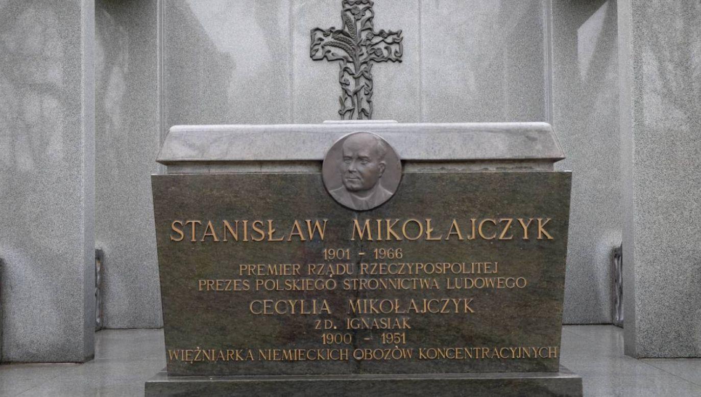 Do śmierci Mikołajczyk pozostał aktywnym politykiem emigracyjnym PSL (fot. PAP Archiwalny/Jakub Kaczmarczyk)