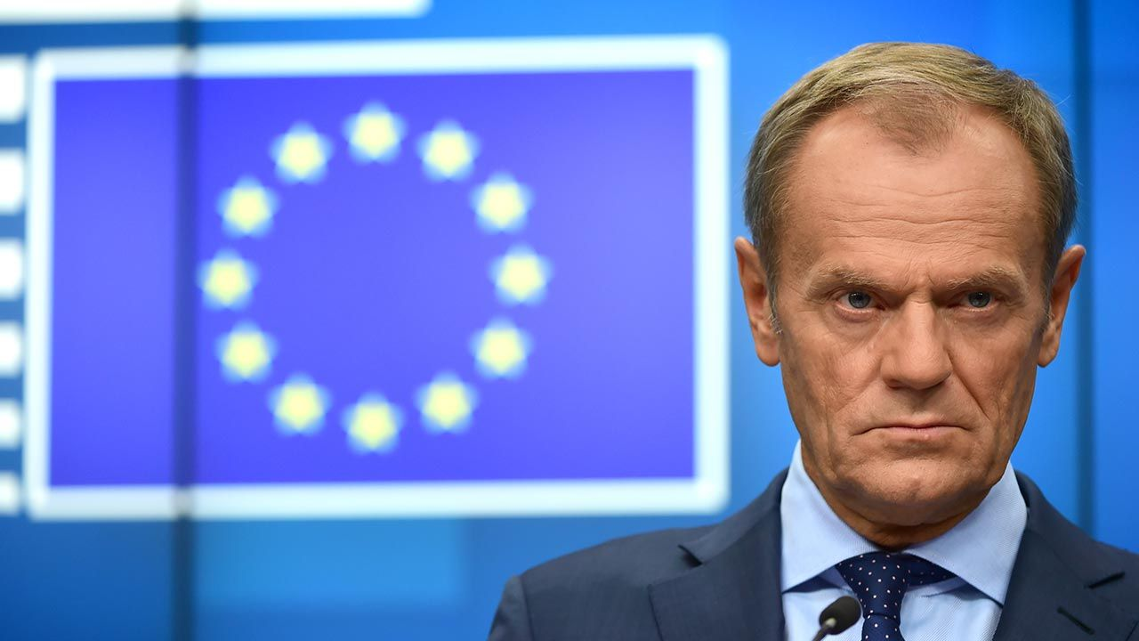 Donald Tusk (fot.  Pier Marco Tacca/Getty Images)