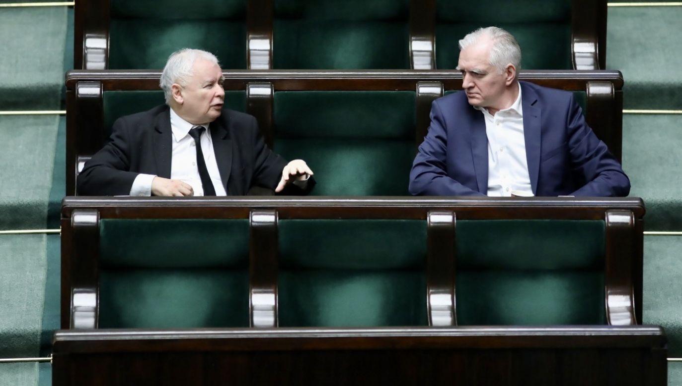 Wicepremier Jarosław Gowin miał nie zgodzić się na ultimatum prezesa PiS Jarosława Kaczyńskiego ws. wyborów prezydenckich (fot. PAP/Leszek Szymański)