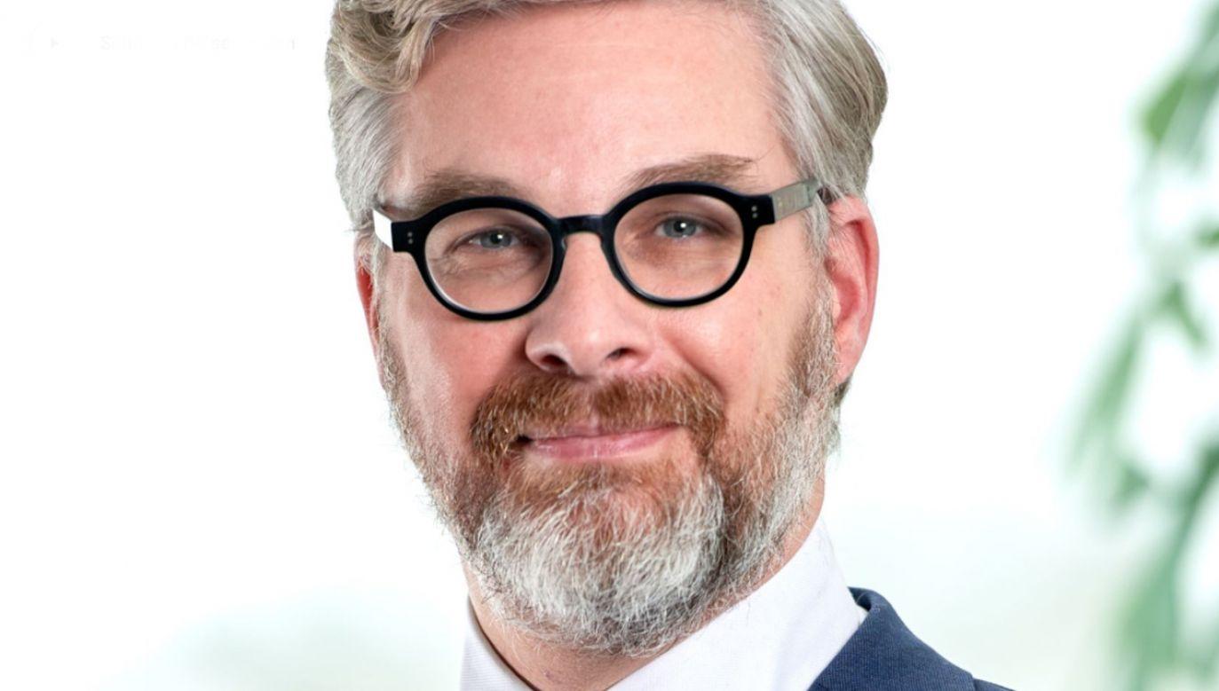 45-letni Sidney Smeets jest posłem od dwóch tygodni (fot. d66.nl)