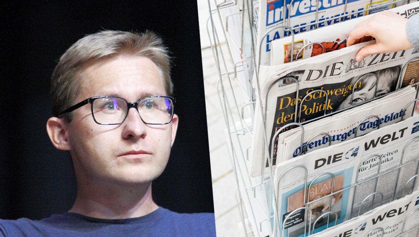 Sławomir Sierakowski skrytykował także programy społeczne (fot. Michal Fludra/NurPhoto via Getty Images; Shutterstock)